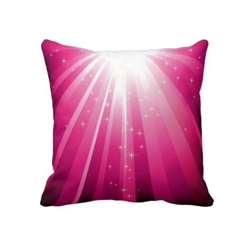 Decorative Throw Pillows Pink : Pink Bliss Decorative Throw Pillow
