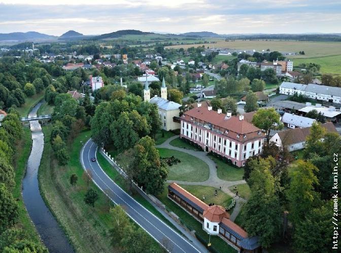 Kunin Castle, Harrach family, Czech Republic