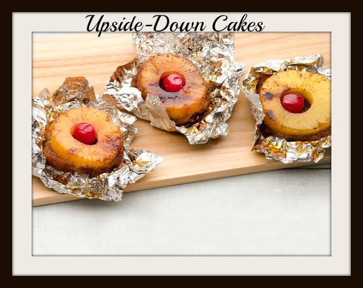 Cakes***~~ For each cake, mound 1 1/2 tablespoons light brown sugar ...