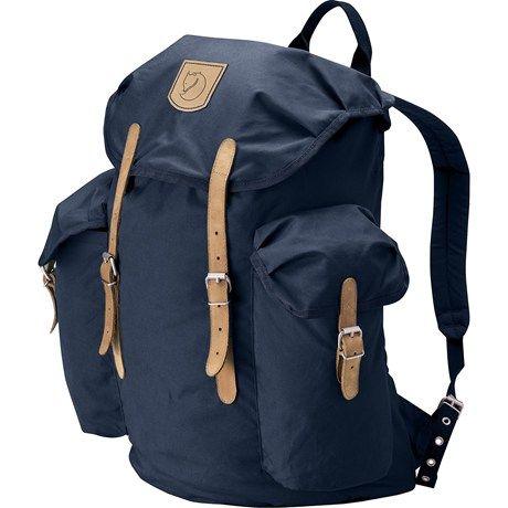 Fjallraven vintage backpack 30l in navy