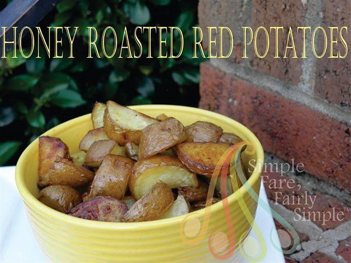 Honey Roasted Red Potatoes | Food | Pinterest