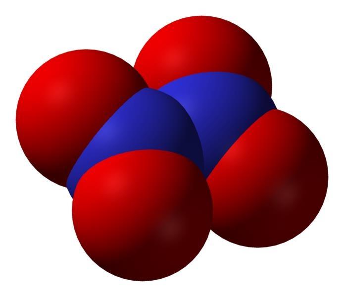 N2O4 - Dinitrogen tetroxide | Chemical Compounds | Pinterest