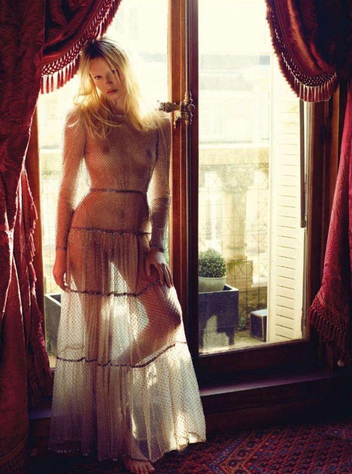 Natasha Poly By Mario Sorrenti For Vogue Paris | June 2012