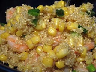 Lemony Shrimp Quinoa | theFoodette Original Recipes | Pinterest