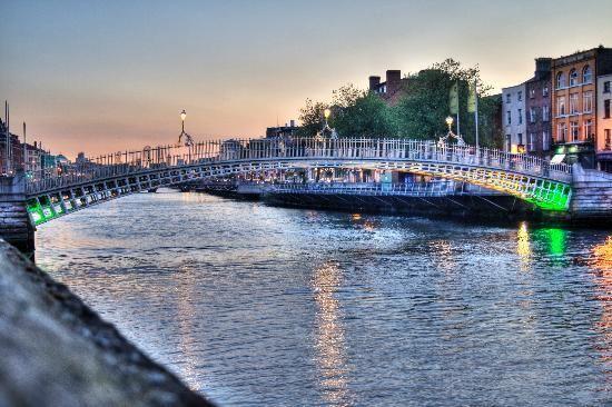 Places to Visit in Dublin:  Ha'Penny Bridge