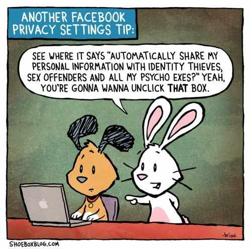 You Gonna Wanna Unclick That Box! #Privacy #fun