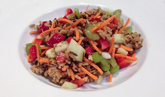 Bodybuilding.com - Whole Grains Recipes: Wild and Brown Rice Salad