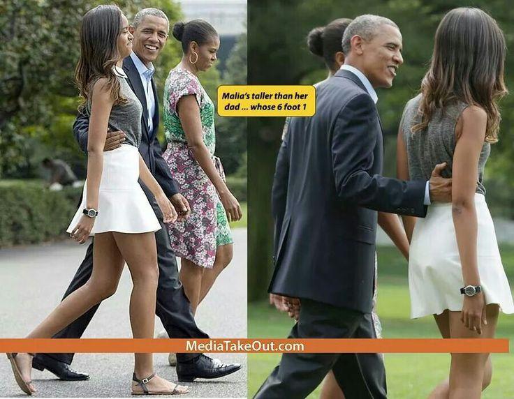 Malia is tall president barack obama pinterest