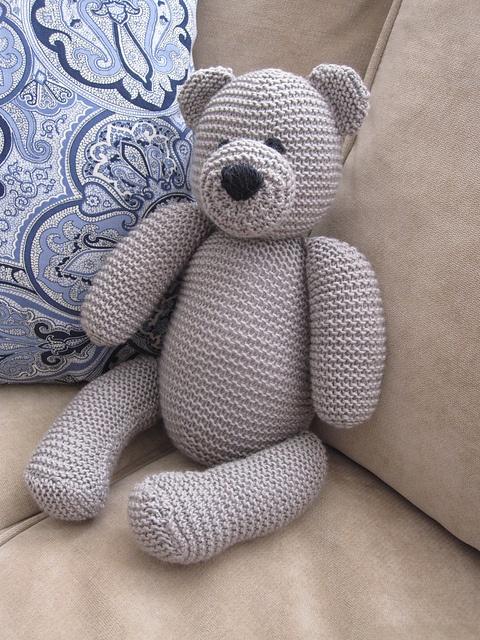 Knitted Teddy Bear Pattern Ravelry : Knit teddy bear Knitted Teddy Bears Pinterest