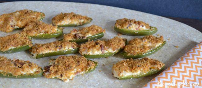 Cheddar Bacon Jalapeno Popper Recipe #appetizer
