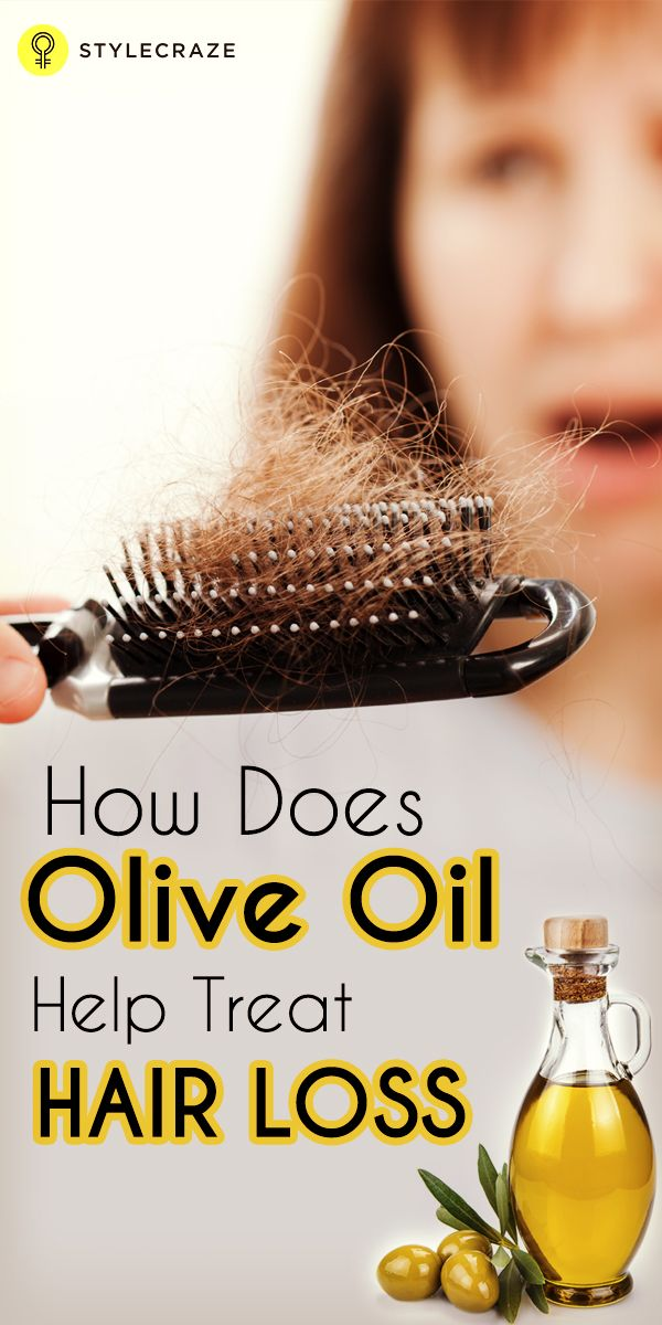 How Does Olive Oil Help Treat Hair Loss
