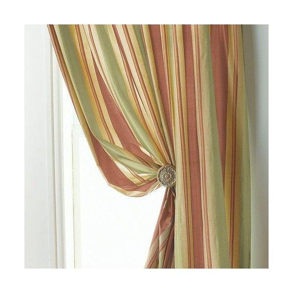 ... Striped Drapery Panels | Lyric Silk Stripe - Curtain-Drapery.com