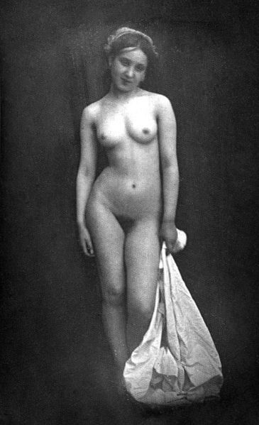 file naked girl standing moulin 167   anatomy sketching pintere