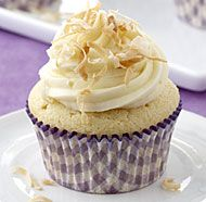 Toasted Coconut Snowball Cupcakes | Recipe
