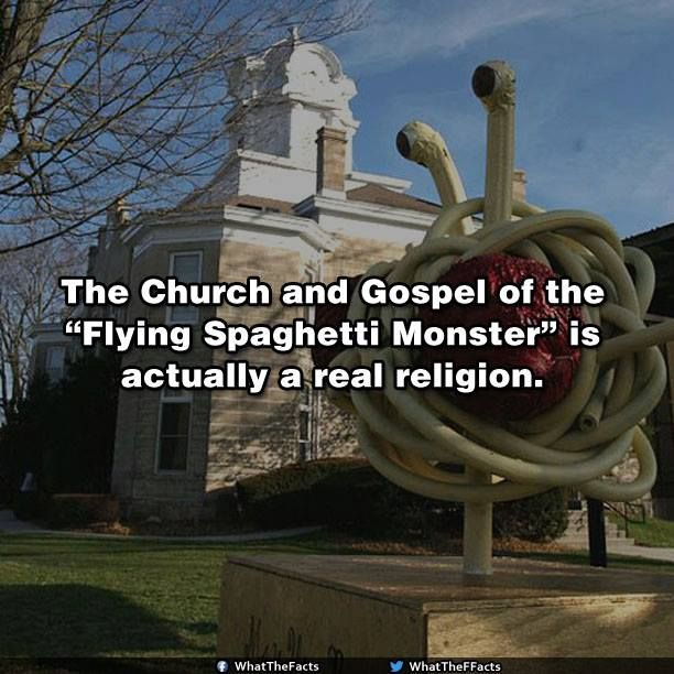 Church of the flying spaghetti monster