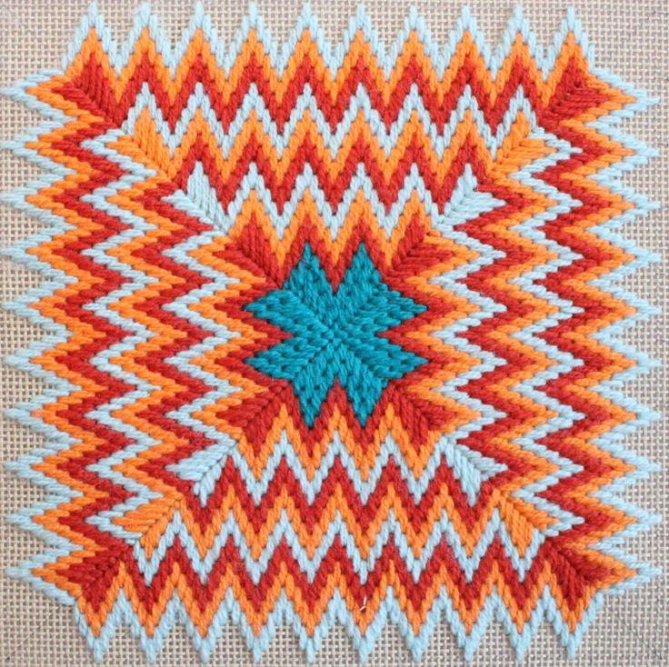 Милые сердцу штучки вышивка барджелло 33