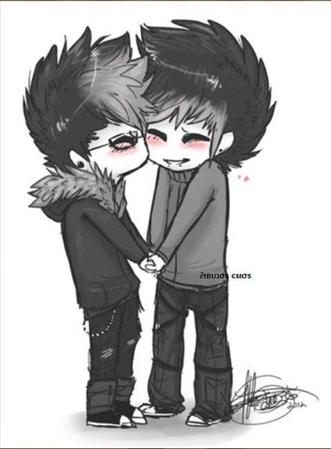 Emo Gay Love 30