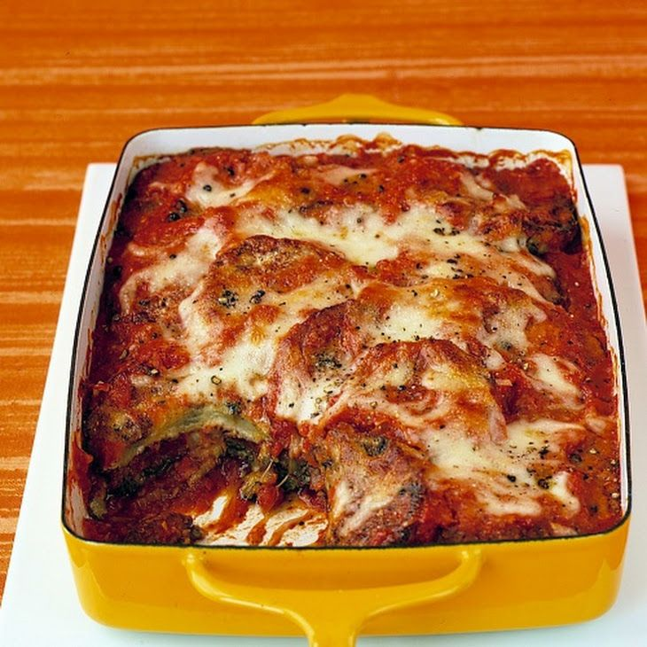 Baked-Eggplant Parmesan II Recipe | Food and drink | Pinterest