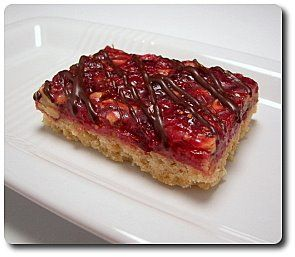 Culinary in the Desert: Cranberry Turtle Bars