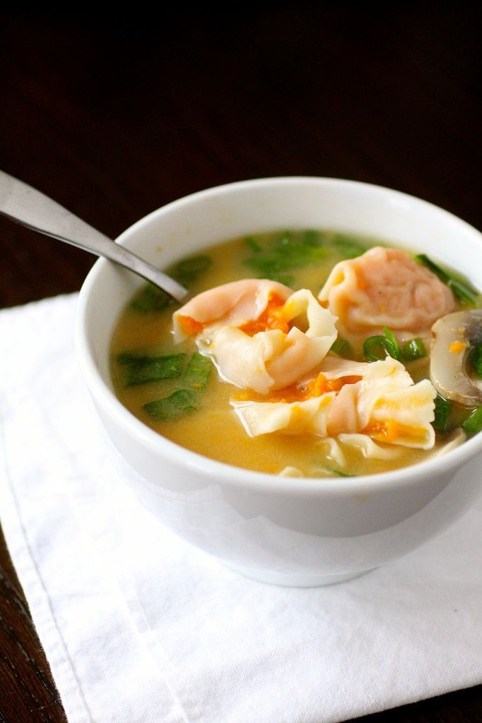 Miso Soup with Sweet Potato Dumplings | The Curvy Carrot Miso Soup ...