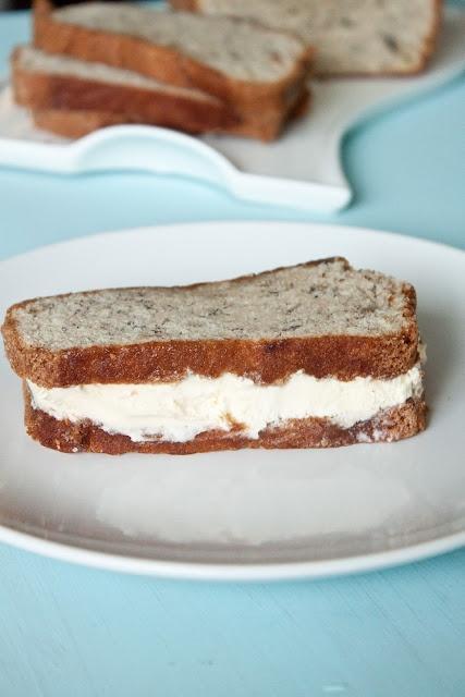 banana bread ice cream sandwiches. yum   My Style   Pinterest