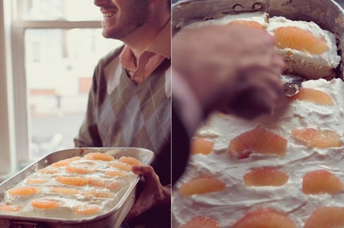 Grapefruit Cake   Sweets for my sweet...honey for my honey.   Pintere ...