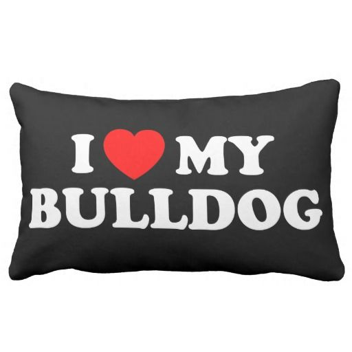 consumer reviews I Love my Bulldog American MoJo Pillow I Love my