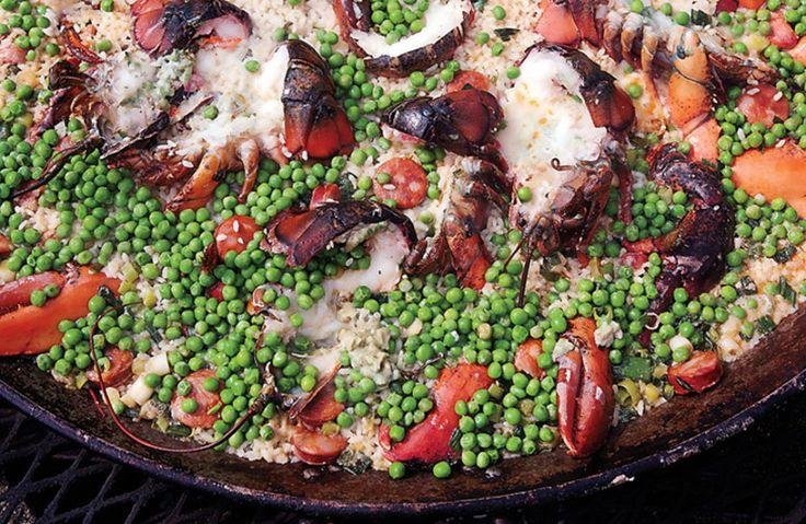 Lobster and Chorizo Paella