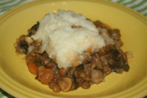Lentil Pie | Good Eats | Pinterest