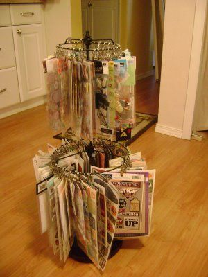Lampshades turned into clip it ... so clever! Tutorial