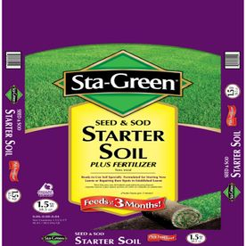 Sta green 1 5 cu ft lawn soil topss1 5sg for Sta green garden soil
