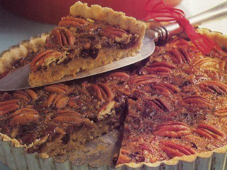 Pecan-Cranberry Tart Recipe | Kitchen Daily