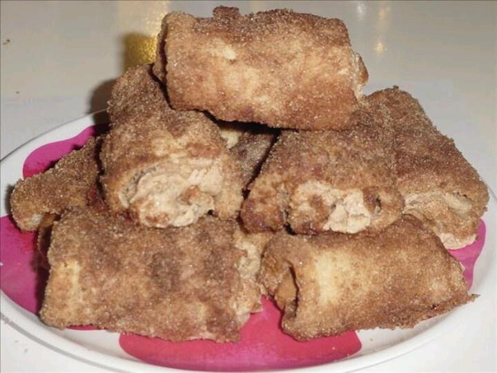 Cinnamon Cream Cheese Roll-Ups | Food & Drink | Pinterest