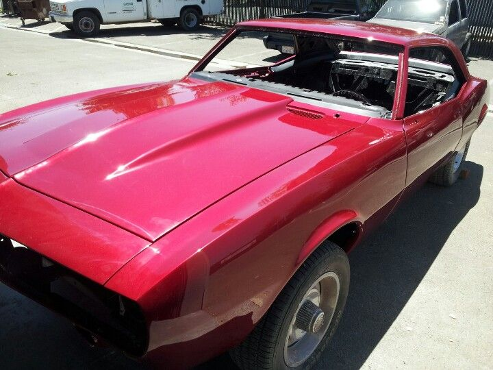 Freshly Painted Car