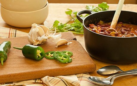 Whole foods quick and easy veggie chili. | Soups & Stews | Pinterest