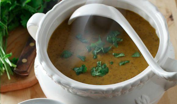 Curried Coconut Sweet Potato, Carrot & Red Lentil Soup | Lentils.ca