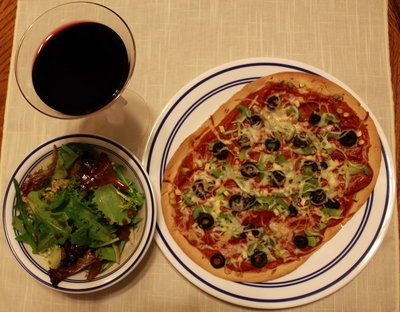 skinny pizza 315 calories | food! | Pinterest