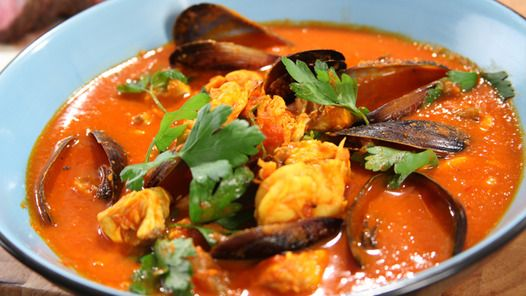 Bouillabaisse - french seafood soup | Food | Pinterest