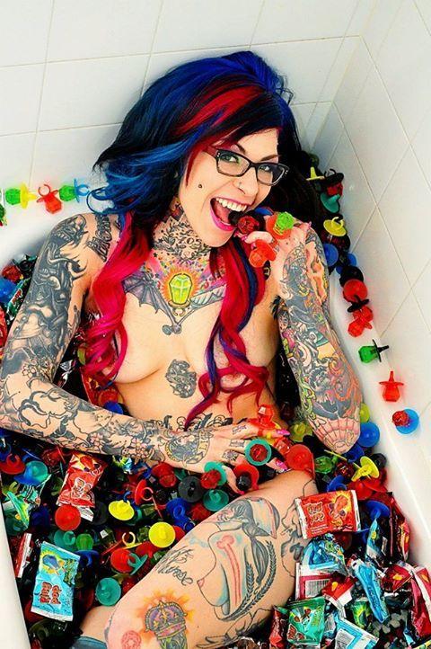 Nurse With Many Tattoos  Pinterest