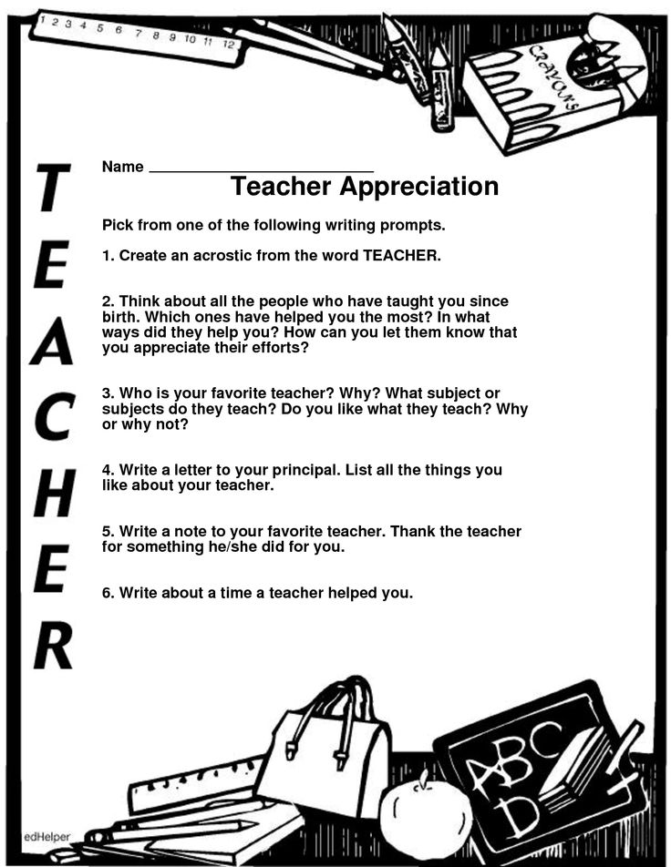 writing prompts for teachers How to prepare for a writing assignment at a college or university teaching job interview.