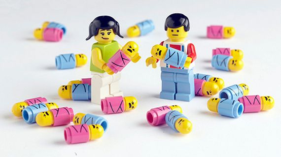 LEGO Minifig Babies $1