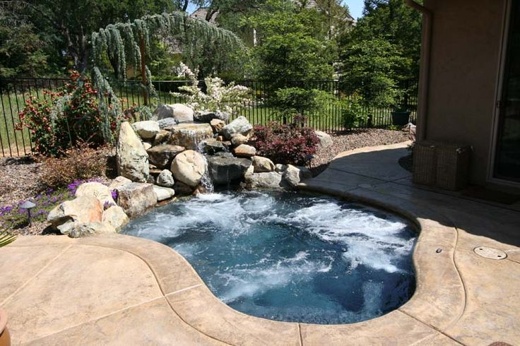 Natural Pool Designs For Small Backyards : pool designs