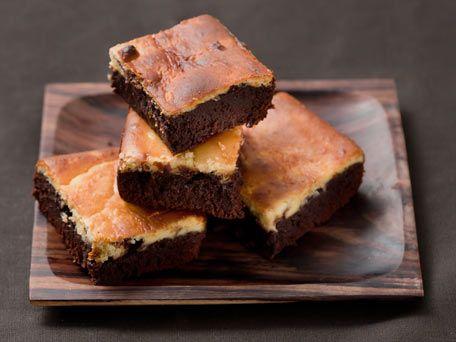 Cheesecake Marbled Brownies | food | Pinterest