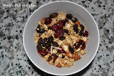 Crunchy Quinoa Granola | Join Us, Pull up a Chair | Healthy Eats ...