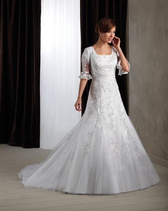 simply elegant modest wedding gowns friends wedding