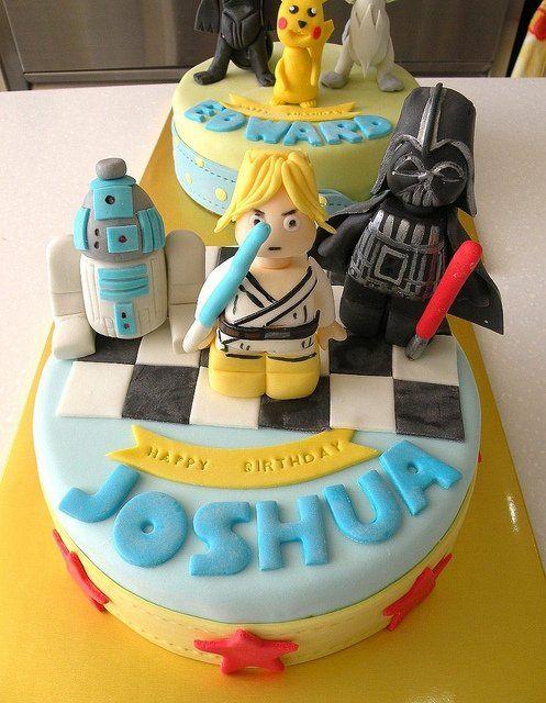 star wars cake fondant