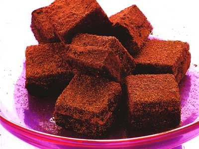 Bittersweet Chocolate Truffle Recipe | CAKES | Pinterest