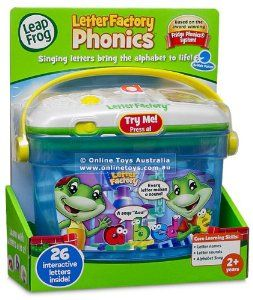 Leapfrog Letter Factory Phonics Toys For Three Year Old