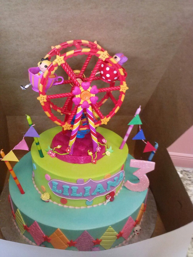 Cake Ideas For Circus Birthday Prezup for