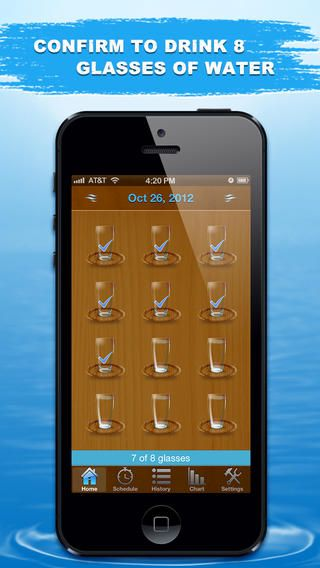 water tracking app iphone